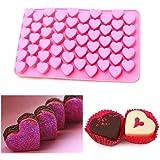 Mould Longra® Cute 55 Mini Love Heart Shape Silicone Baking Mold ! !