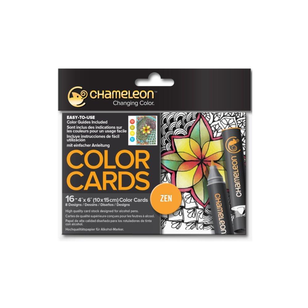 Chameleon Color Cards - Zen by Chameleon Arts