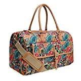 A63.Disney Mickey Mouse Men Women Travel Weekend Duffel Luggage Overnight Bag