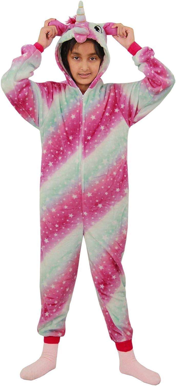 A2Z 4 Kids Disfraz de unicornio Kigurumi A2Z para niños y ...