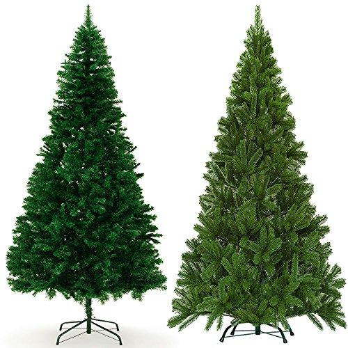 Weihnachtsbaum 180 cm 533 Spitzen mit Ständer - Christbaum Tannenbaum