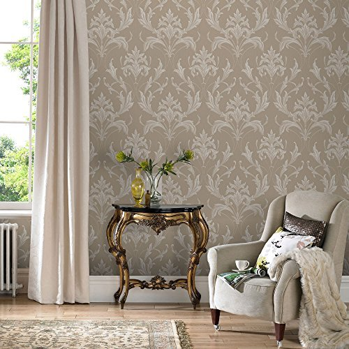 Graham & Brown Oxford Gold / Natural Wallpaper 20-958 by Graham & - Gold 958