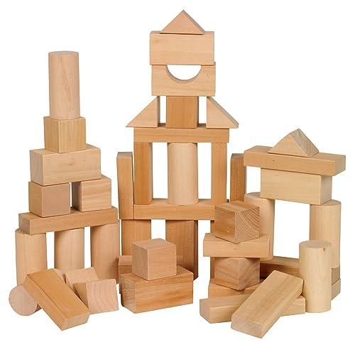 Small World Toys Ryans Room Wooden Toys Bag O Blocks Natural Wood