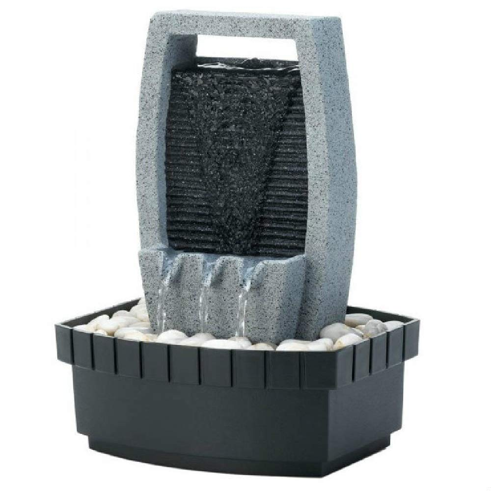 BESTChoiceForYou Zen Home Decor Ornament Classic Water Wall Tabletop Compact Fountain