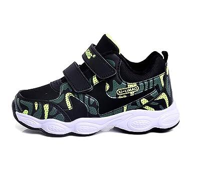 3460712ebfeb8 tqgold Bottes de Neige Garcon Fille Chaussures Bottines Hiver Chaudes  Fourrées Scratch Basket Enfant Velcro Outdoor