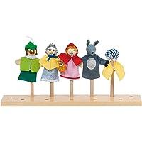 Goki 51898 - Marionetas de Dedo, diseño Caperucita