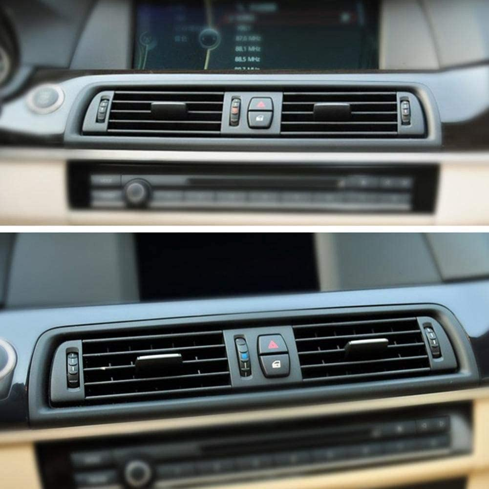 Semoic Front Dash Panel Center Fresh Car Air Outlet Vent Grille Cover for BMW 5 F10 F18
