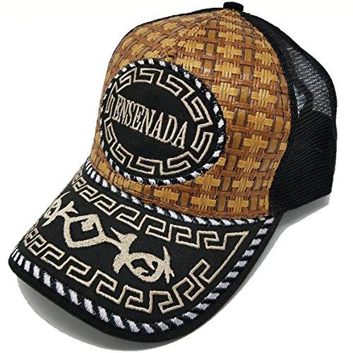 2376465b37e Jual Mexico Straw Hat Cap Baseball Rooster Eagle Men Women Mesh ...