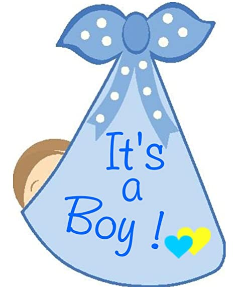 Amazon Com It S A Boy Stork Bundle Door Hanger Welcome Home New