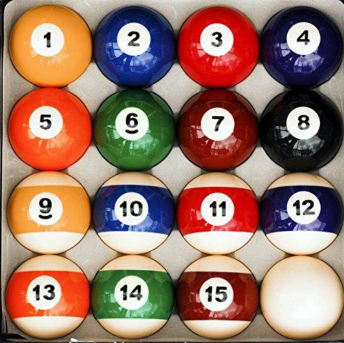 - Pool Table Billiard Ball Set, Traditional Style