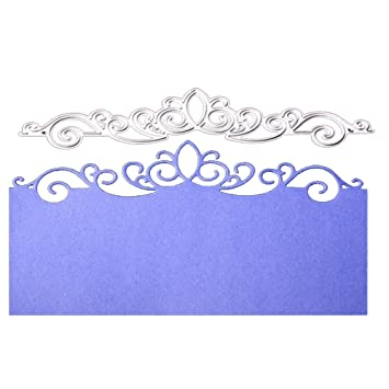 Amazon Metal Cutting Dies Embossing Die Cuts Crown Lace