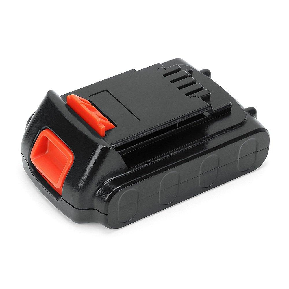 POWERAXIS 20V Lithium Ion LBXR20 Battery Replacement for Black and Decker 20V Max Battery LBXR20 LBXR20-OPE LBXR2020 LB20 LBX20 LB2X4020 LB2X4020-OPE Cordless Tool (Black)