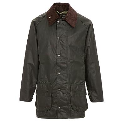 bbfa48d981e56 Barbour Men's Beaufort Wax Jacket at Amazon Men's Clothing store: