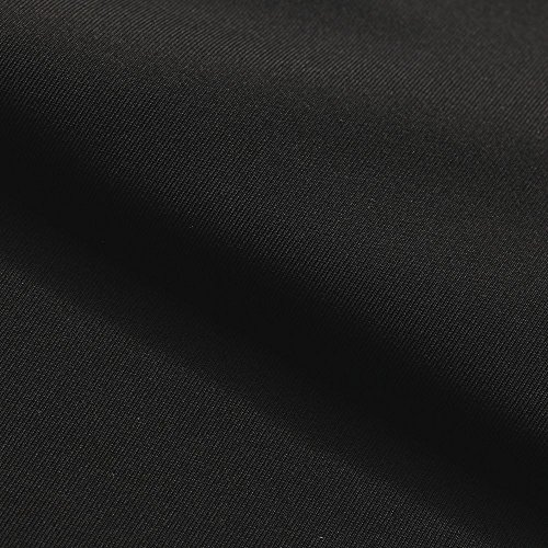 [DRI-TEX MOSS | MOISTURE WICKING PERFORMANCE FABRIC | Fast Dry Fabric | for Yoga wear, Sportswear, Athletic wear, Activewear, Loungewear, Children's apparel (Black) | Fabric By] (Performance Art Costumes)