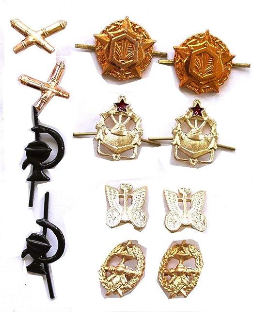 Amazon com: Soviet, USSR ORIGINAL of 6 Sets of Military Insignia