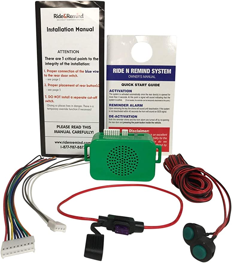 CAR HEADLIGHT REMINDER LEFT ON WARNING BUZZER FREE DELIVERY
