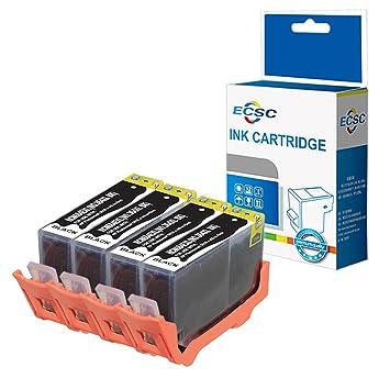 ECSC Compatible Tinta Cartucho Reemplazo Para HP Deskjet 3070A ...