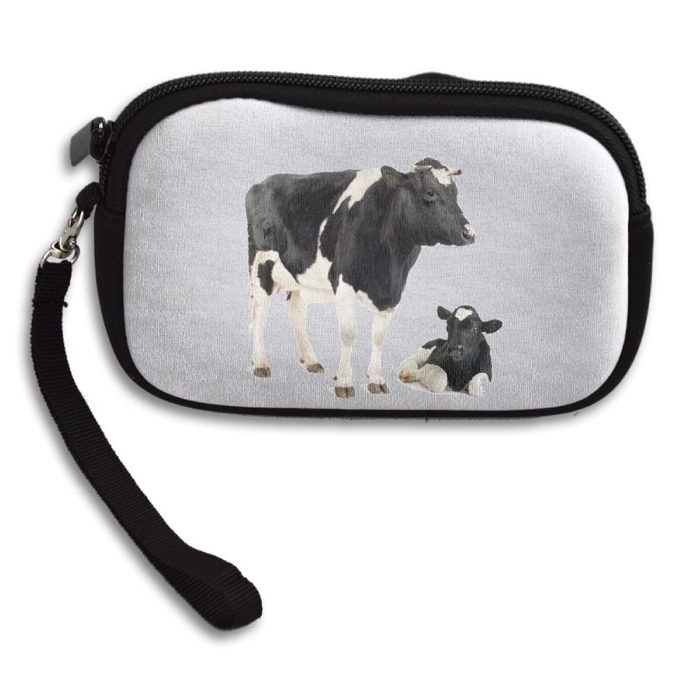 6a3a603147a7 dairy cattlecoa women's cow white wallet female's new design cow ...