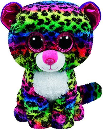 Ty Dotty Leopard Plush, Multicolor, -