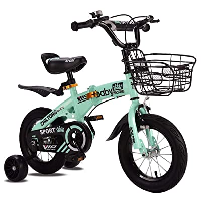TWTD-TYK Kid's Bike,Children's Bike, Kids Bike Ultralight Children Bicycle with Training Wheels Magnesium Alloy Children Bike 12/14/16/18 Inch Kids Bicycle: Sports & Outdoors