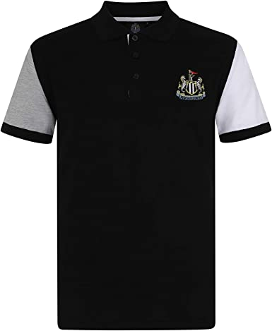 Newcastle United FC - Polo Oficial para Hombre - con el Escudo del ...