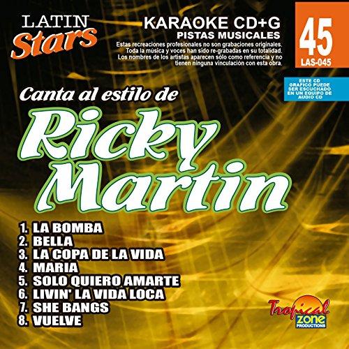 Martin Karaoke (Karaoke: Ricky Martin 1 - Latin Stars Karaoke)
