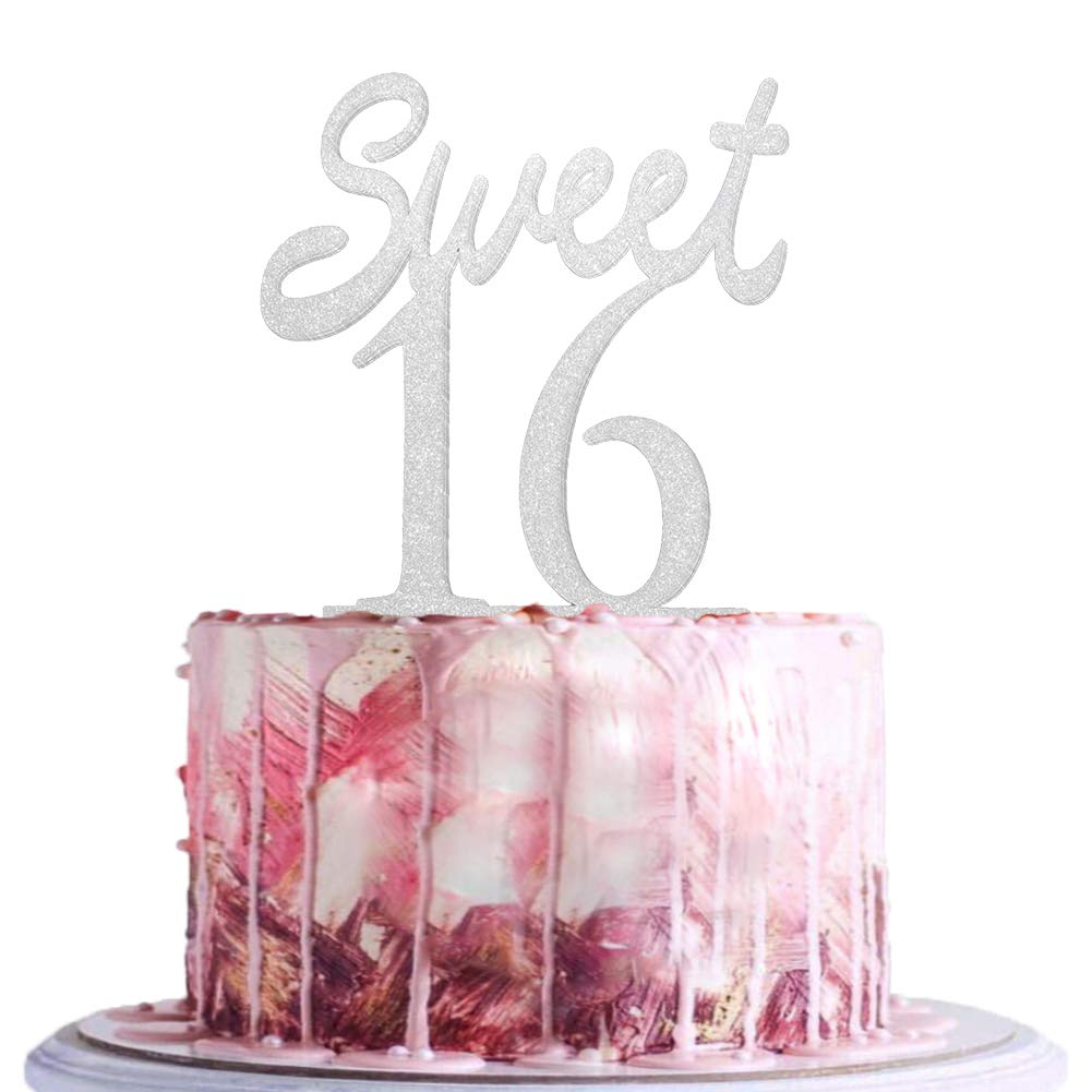 BLINGBLING Sweet 16 Cake Topper