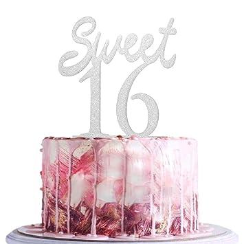 BLINGBLING Sweet 16 Cake Topper