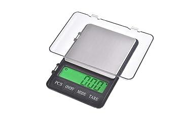 Quantum Abacus Precise: Báscula digital de precisión/balanza para correo/joyería, hochgraduación precisa de 600gr / 0,01gr, 999-600g0.01: Amazon.es: Oficina ...