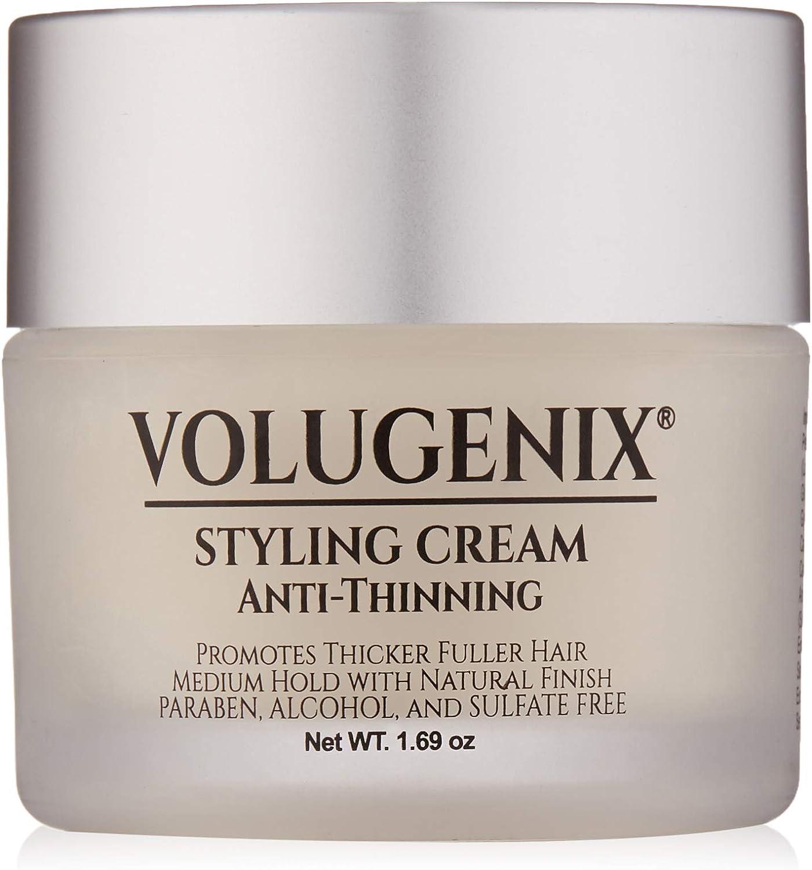 Volugenix Tratamiento de adelgazamiento del cabello Hair Styling Crema Anti-adelgazamiento y pérdida de cabello para hombres y mujeres Fórmula Gel Pomada crecimiento del pelo del pelo fino
