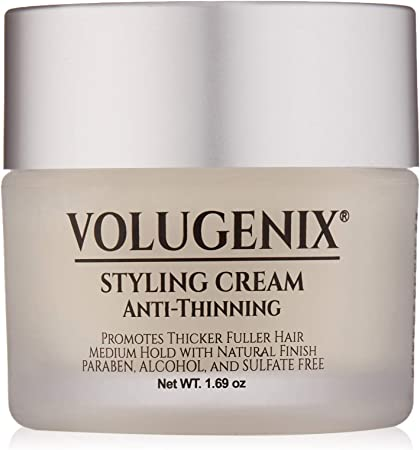 Volugenix Hair Styling Cream Anti Thinning And Hair Loss Thinning Hair Treatment For Men And Women Hair Gel Pomade Hair Growth Formula For Thin Hair Repair And Hair Thickening Amazon Co Uk Beauty
