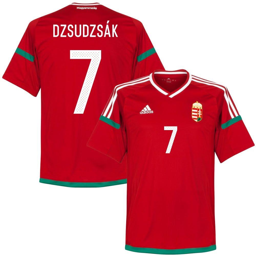 Ungarn Home Trikot 2016 2017 + Dzsudzsák 7 (Fan Style) - XL