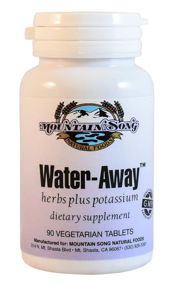Water Away Herbal Diuretic Water Pills. Natural Support to Reduce Bloating by Mountain Song (Image #1)