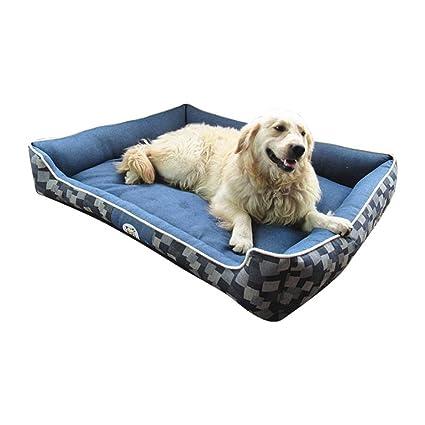 Cama para Perros De Lujo, Cama para Mascotas Cat, Durable Denim, Prueba De