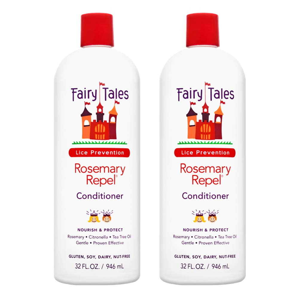 Fairy Tales Rosemary Repel Daily Kid Conditioner for Lice Prevention - 32 oz - 2 Pack