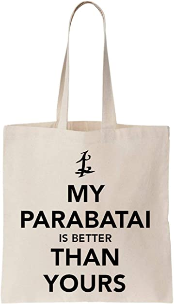 My Parabatai IS Better Than Yours Algodón Bag Tote Bag: Amazon.es ...