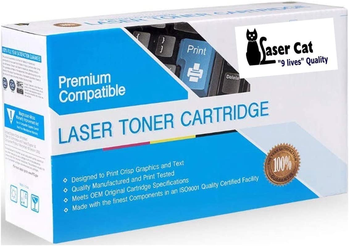 LASER CAT Compatible Ink Cartridge Replacement for Lexmark 52D1X00 MS711DN Works with: MS711 MS811 MS812 521X MS811X Black MS812X