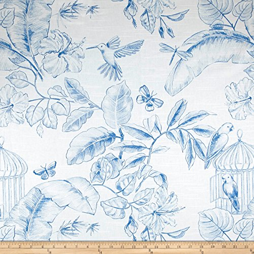Home Accent Fabrics Home Accent Menagerie Toile Porcelain