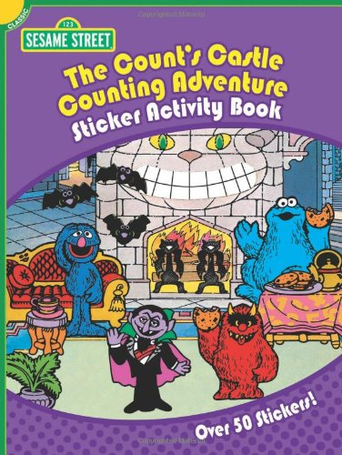 Download Sesame Street Classic The Count's Castle Counting Adventure Sticker Activity Book (Sesame Street Stickers) (English and English Edition) PDF