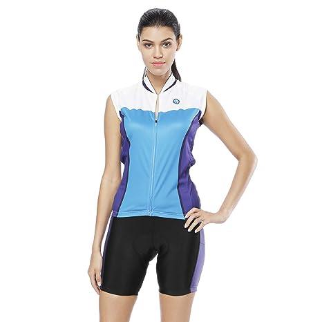Jersey de ciclismo Conjunto de mujer Traje de triatlón MTB ...