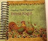 Greeting Card Organizer ~ Teresa Kogut Design ~ Hard Cover ~ Address Book