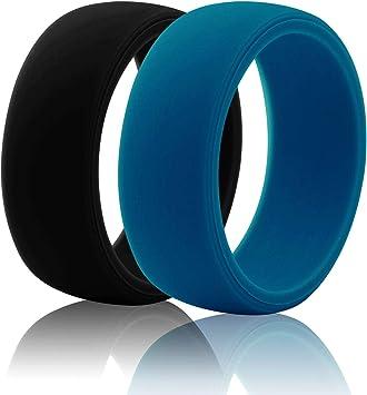 Anillos de boda de silicona, escalada, Fitness, Deportes, levantamiento de pesas/entrenamiento, Running, anillo de goma, seguro silicona, anillo ...