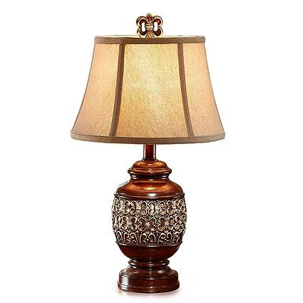 Lámparas de mesa- de Resina, iluminación Interior Retro ...