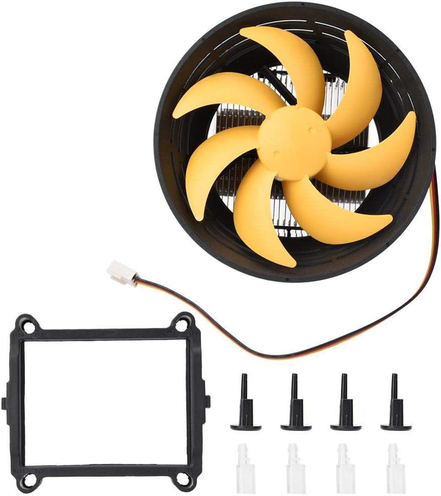 Zopsc PC Cooling Fan 12cm 56.1CFM Powerful Wind 1800RPM Fast Heat Dissipation Case Fan Heatsink Cooler for Computer