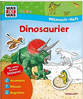 Mitmach Heft Dinosaurier Und Tiere Der Urzeit Spiele Rätsel