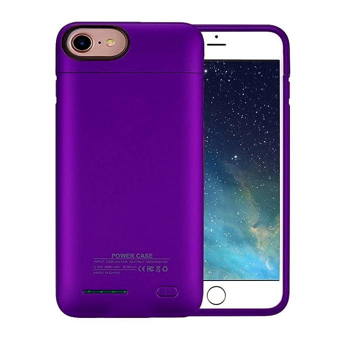4b258bc1fd68 iPhone 7 Plus Battery Case,BIGFOX iPhone 8 Plus/7 Plus Charger Case 4200mAh