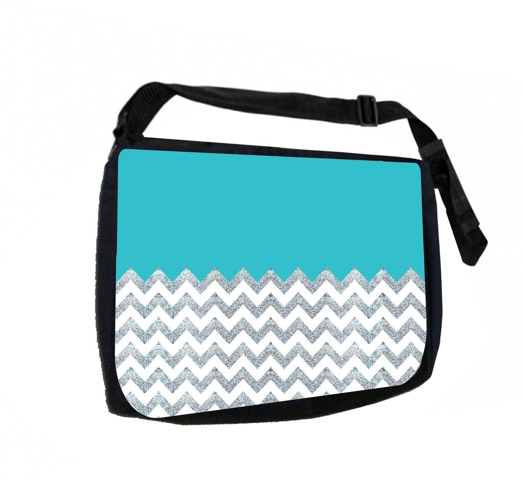 Pencil Case Set Chevrons TM School Messenger Bag