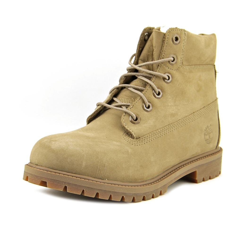 Timberland 6'' Waterproof Boots Unisex Juniors (4 Big Kid M, Tan Monochromatic (Gopher))