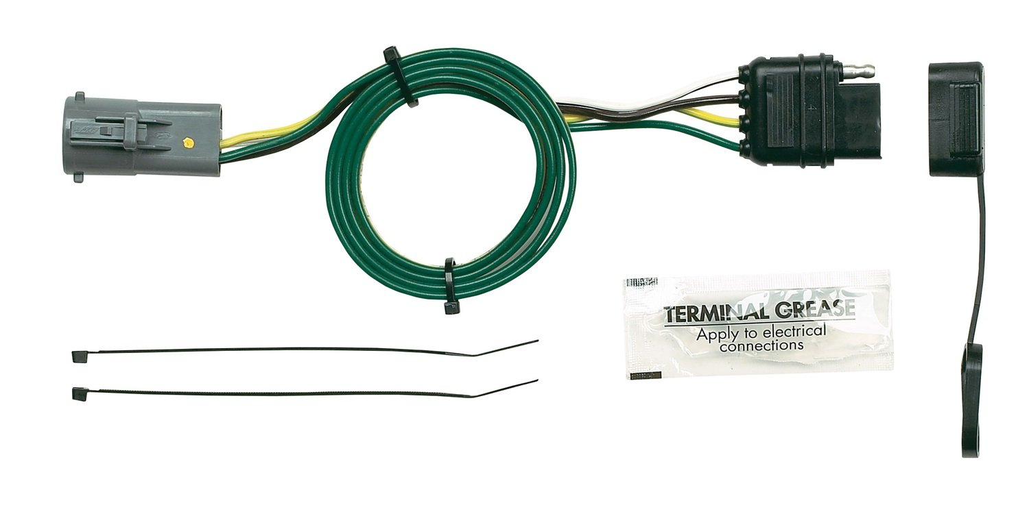 61t1%2B8ZQrlL._SL1500_ amazon com hopkins 40915 plug in simple vehicle wiring kit wiring diagram for hopkins trailer plug at gsmx.co