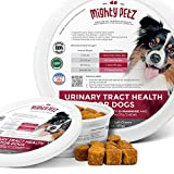 Eliminate recurring UTIs and get rid of the pain once and for all! Relieve the pain, maintain your friend's urinary tract, support kidney & bladder strength with our low calorie, low allergen and sodium-free dog treats with d-mannose and probiotics t...